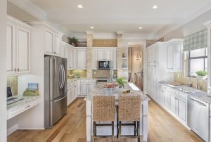 Estate homes on acre lots