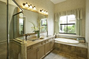 Bristol Master Bath Model Home