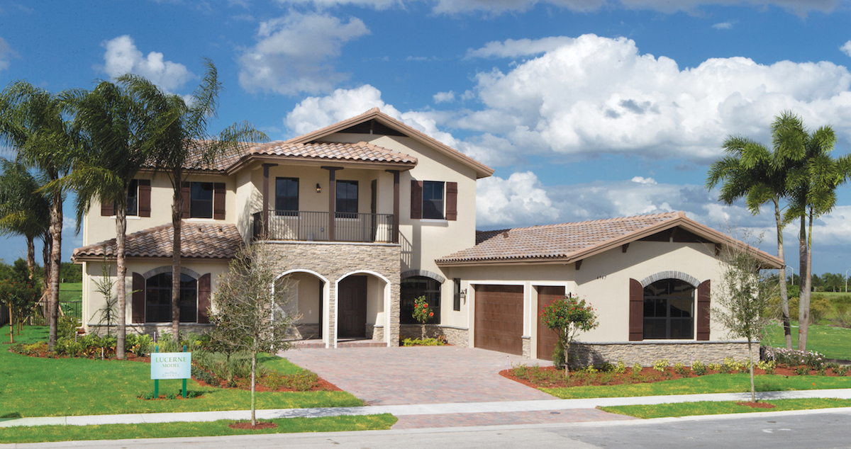 Newly built luxury homes in ave maria near naples fl cc for Floridian homes